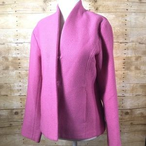 Eileen Fisher pink wool jacket - SZ XS